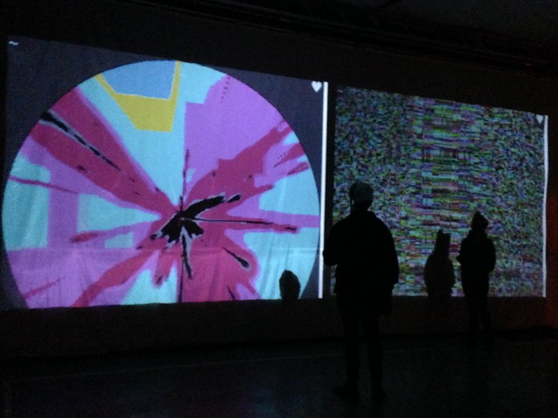 WJ-S INSTALLATION @ TRANSIENT FESTIVAL - MAINS D'OEUVRES - SAINT-OUEN - 2014